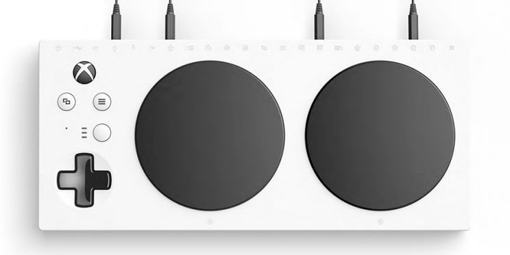 Accessible-Gaming-Xbox-Adaptive-Controller