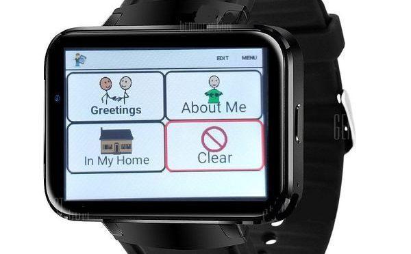 SpeechWatch World's First Standalone AAC Smartwatch