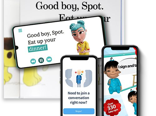 Smart Apps to Improve Reading, Writing, and Communication Skills for Deaf Students