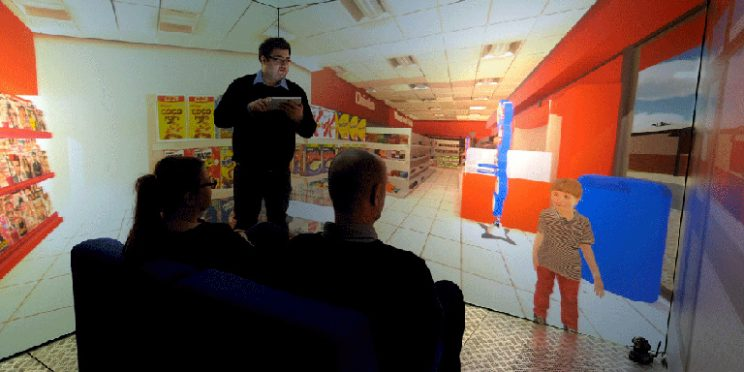 The Blue Room: How Virtual Environments Can Enhance the User Journey for People with Autism